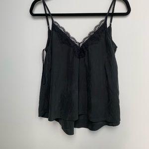 Brushed Lace Camisole